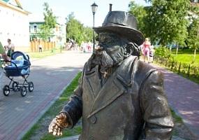 Памятник Степану Писахову