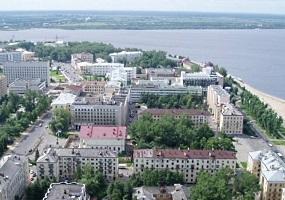 Архангельск - вид с высоты