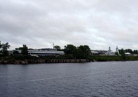 Речной вокзал и Стефановская церковь