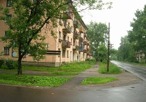 Вычегодский - посёлок городского типа