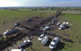 Число жертв взрыва на трубопроводе в Мексике превысило 110