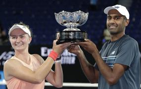 Крейчикова и Рам выиграли Australian Open в миксте