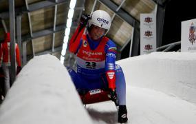 Россиянка Иванова стала четвертой на чемпионате мира по санному спорту