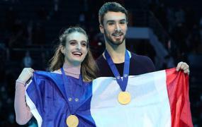 Пападакис и Сизерон горды успехами сборной Франции на ЧЕ по фигурному катанию