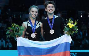 Фигуристы Степанова и Букин заявили, что серебро ЧЕ подстегивает их к дальнейшей работе