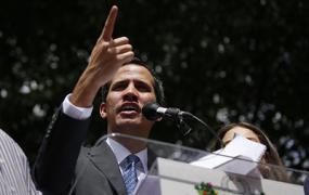 Гуайдо поприветствовал решение военного атташе Венесуэлы в США признать его президентом