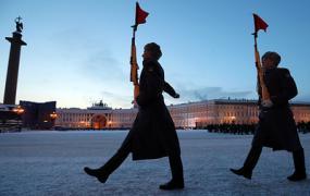 Парад в Санкт-Петербурге в честь 75-летия снятия блокады Ленинграда. Видеотрансляция