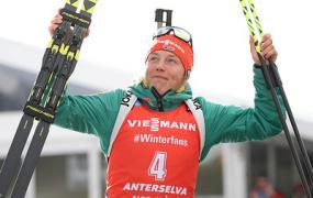 Дальмайер выиграла масс-старт на этапе Кубка мира по биатлону в Италии