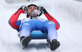 Бронзовый призер ЧМ саночник Павличенко признался, что первый заезд проехал вслепую