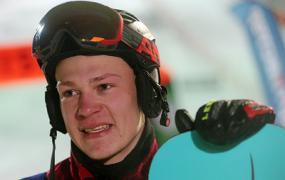 Сноубордист Логинов рассказал, что ощутил большую поддержку зрителей на этапе КМ в Москве