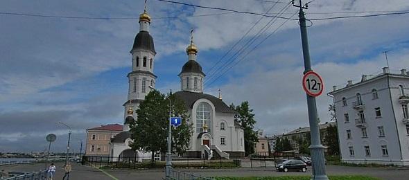 панорамы город Архангельск