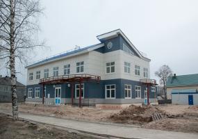 Улица Партизанская. Плесецк, Архангельской области.