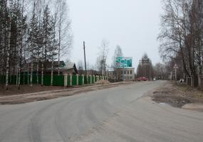Улица Садовая. Плесецк, Архангельской области.