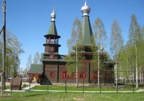 Церковь Иоанна Богослова. Плесецк, Архангельской области.