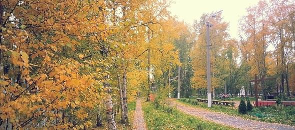 Природа Архангельская область. Фото пейзажи - осень в Северодвинске
