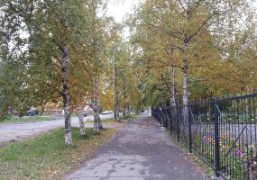 Осенние улицы. Фото пейзажи - осень в Северодвинске.