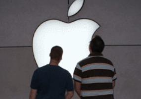 Apple возбуждает воображение. Анимированные картинки.