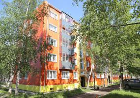 Уютный дворик. Фото города Мирный.