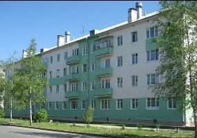 Дом на ул. Ленина. Фото города Мирный.