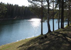 Озеро Плесцы. Фото города Мирный.