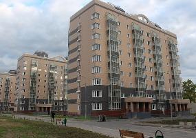 Жилой микрорайон. Фото города Мирный.