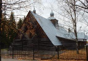 Церковь Георгия Победоносца. Фото города Мирный.