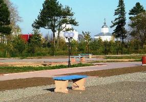 Александровский парк. Фото города Коряжма.