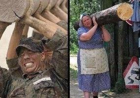 Сравнение России и США. Политический юмор.