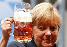 Ценности Ангелы Меркель. Политический юмор.