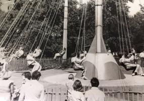 Парк культуры, аттракцион - Ветерок. Северодвинск в прошлом.