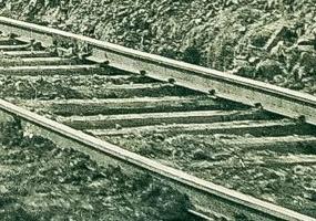 Железная дорога. Первые 23 км.. Северодвинск в прошлом.