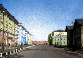 Северодвинск 60-х, пр. Ленина. Северодвинск в прошлом.