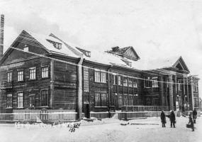 Клуб строителей, Республиканская 30. Северодвинск в прошлом.
