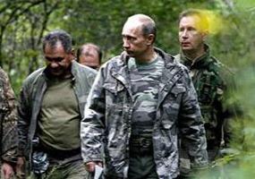 Лесные братья. Владимир Путин.