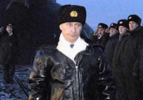 На подводной лодке. Владимир Путин.