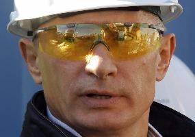 Открытие трубопровода. Владимир Путин.