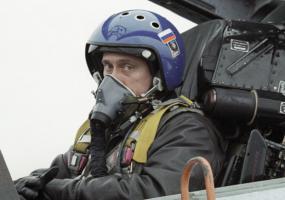 Пилот Су-27. Владимир Путин.