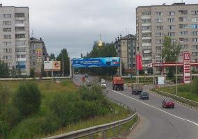 Въезд в Новодвинск. Фото города Новодвинск.