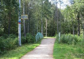 Горбатый мостик. Фото города Новодвинск.