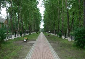 Аллея Памяти. Фото города Новодвинск.