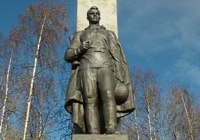 Памятник неизвестному солдату. Фото города Новодвинск.