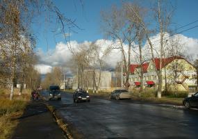 Улочки города. Фото города Новодвинск.