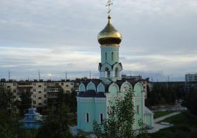 Храм. Фото города Новодвинск.