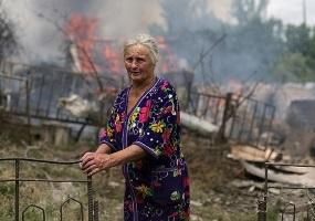 Война в Донбассе. Донбасс в огне